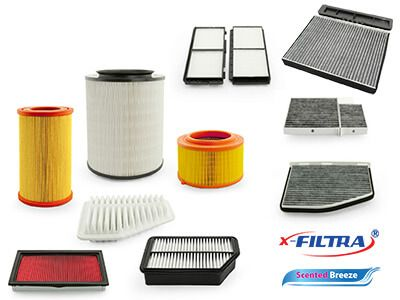 X-Filtra and Scented Breeze Air Filters
